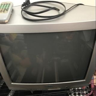ブラウン管テレビ21型98年製三菱製