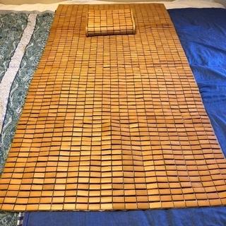 酷暑に重宝 ひんやり涼しい竹シーツ