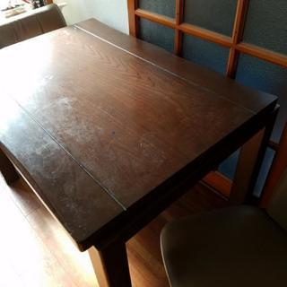 ダイニングこたつテーブル