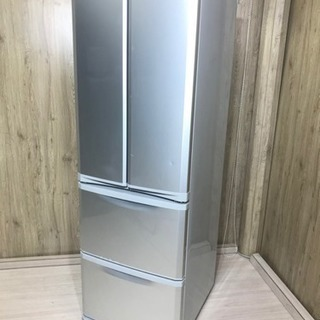 ★三菱 400L フレンチドア冷蔵庫!設置無料、送料無料地域あり♪