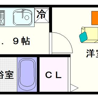 【イカルス日本橋】1Kタイプ!全戸南向きで日当たりがめちゃくちゃ良...