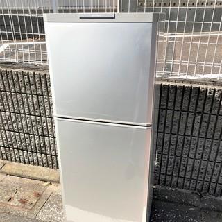 極美品 MITSUBISHI 2ドア冷蔵庫 MR-16R シルバー...