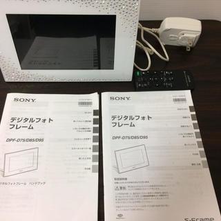 ソニー SONY デジタルフォトフレーム D75 スワロフスキーモ...