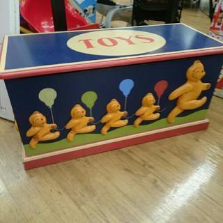 木製 ハンドメイド オモチャ箱