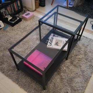IKEA ネストテーブル VITTSJO ヴィットショー 2個1セット