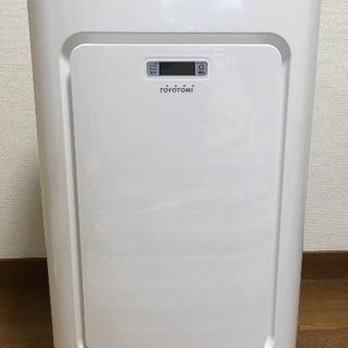 【取付工事不要】トヨトミ スポット冷暖エアコン TAD-2218W