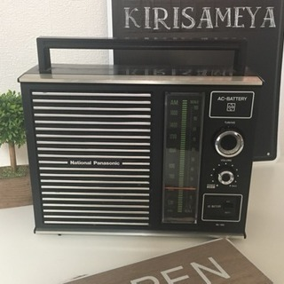 美完動品レトロNationalラジオビンテージ