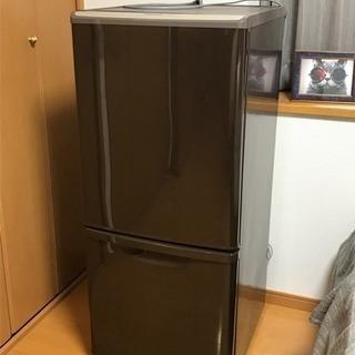 【取りに来られる方限定】冷蔵庫 Panasonic 138L 2ド...