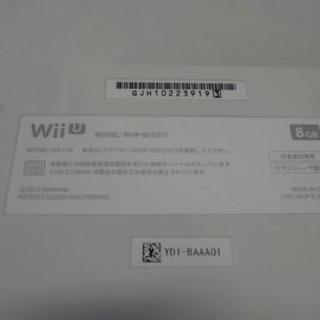 WiiU 本体+GamePad [GJH10223919 3/JJH10733427 5]   - 売ります・あげます