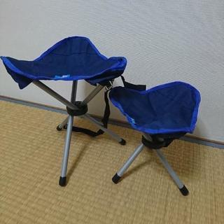 折りたたみ チェアー 椅子 新品 親子セット 収納ポーチ付き