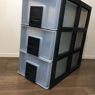 三段 衣類 収納ケース 衣装ケース ボックス