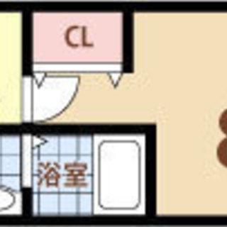 福島駅 歩5分  家賃32500円 共益費5000円 27.26㎡