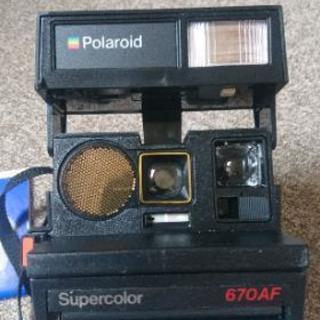 【ジャンク】ポラロイドカメラ