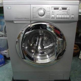 稀少モデル 欧米デザインドラム式洗濯機 薄型 スリム LG WD...