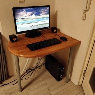 パソコン + モニター マウス、キーボード, スピーカー