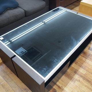 ニトリのガラステーブル「エミューズ20」です!
