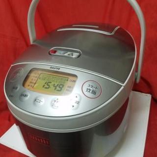 サンヨー🔴おどり炊き 3合炊き圧力IH炊飯器