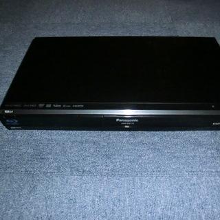 信頼のパナソニック ブレーレイレコーダー 500GB 2番組同時録画