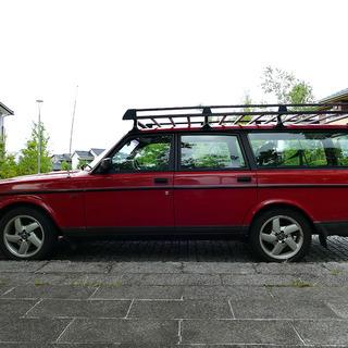 個人出品 ボルボ 240 1993年 最終型 TACK 乗って帰る...