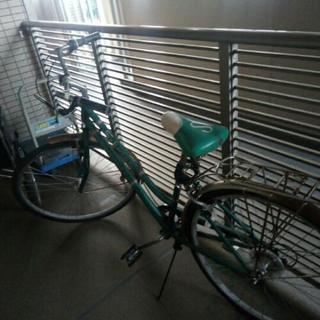 ジャンク自転車(Schwinnママチャリ)