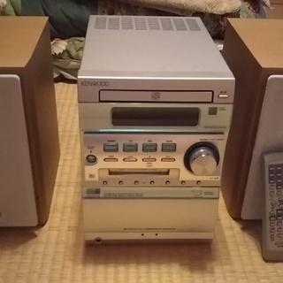 MDコンポ CD カセット KENWOOD ケンウッド