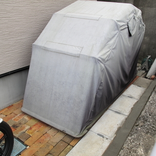 DUTY JAPAN 開閉式バイクガレージ270*105*155c...