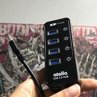 USB3.0 ハブ QC 充電