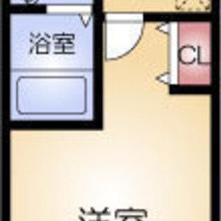 福島駅 歩10分  家賃32500円 共益費5500円 25.2㎡