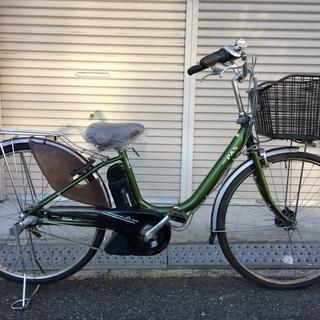 ヤマハ パス 新基準 子供乗せ 緑 6AH アシスタ ビビ 神戸市...