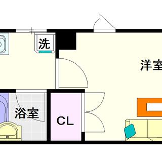 【メディオ新難波】1Kタイプ!ちょい広めのシングルマンションで使い...