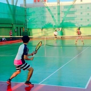 大久保テニスコートで楽しく♪わいわい♪テニス練習&飲み会!(^^)!