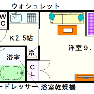【クレアート難波南イービス】1号タイプ!1Kタイプ!分譲マンション...