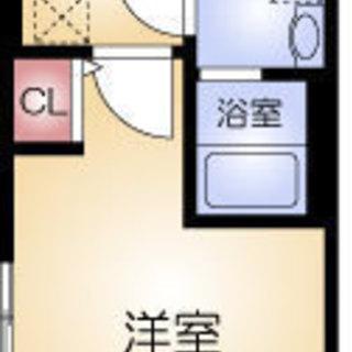 恵比寿町1分 家賃30,000円 共益費8,000円 25.42㎡