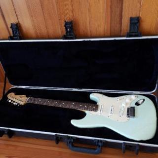 エレキギター fender usa アメスタ ストラト 稀少色 ...
