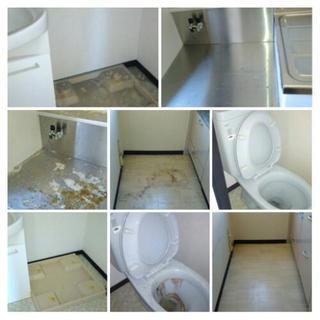 お部屋のお掃除片付け 不用品回収致します。便利屋タクミ