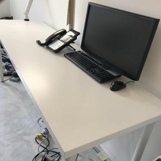 IKEA LINNMON リンモン テーブルトップ, ホワイト 2...