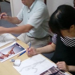 8月6日『本気のお絵かき教室』~武蔵新城