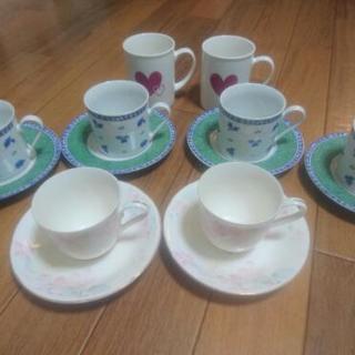 (急募)ティーカップ、ガラスコップ、ガラス皿等