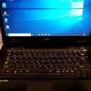 NECノートパソコンWindows10