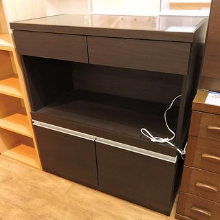 北大前! 札幌 引取 【値下げ!!】 キッチンボード 食器棚 引...