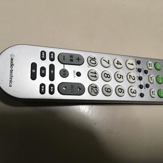 テレビ&ビデオ/DVDケーブルテレビ対応 汎用 リモコン AT...