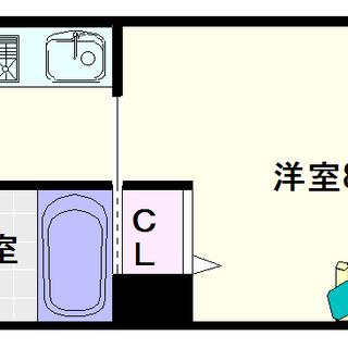 【ベルシモンズ桜川】3号タイプ!1Kタイプ!オシャレさんに嬉しい南...