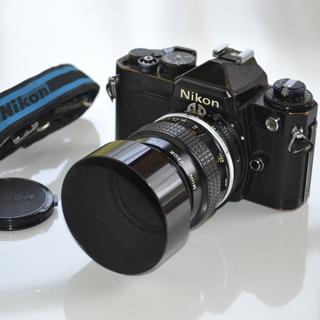 【現金代引発送】Nikon FE 一眼レフ35mmフィルムカメラ...