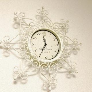シャビーシック掛け時計★