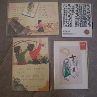 韓国雑貨 カードとシール