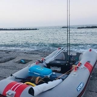 海釣りゴムボート動向募集‼️