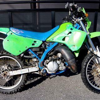 kawasaki KDX125SR ライムグリーン A1 栃木県  - 塩谷郡