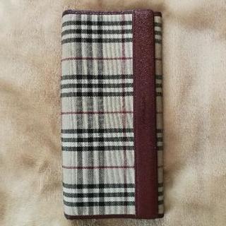 バーバリ長財布