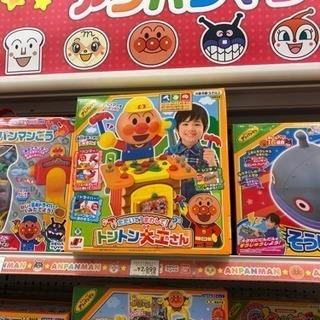 アンパンマンおもちゃ トントン大工さん 外箱 パッケージ 201...