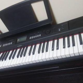 本日で終了です。ヤマハ電子ピアノ76鍵盤piaggero v80